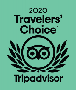 2020 Travelers' Choice Award TripAdvisor